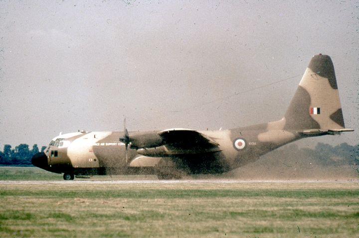 C-130K, LAC 4241 - MILITARY PHOTO PRINTS  UK