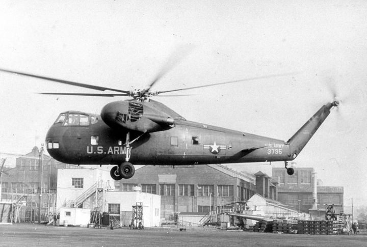 2154 H-37 USA HELICOPTER - MILITARY PHOTO PRINTS  UK