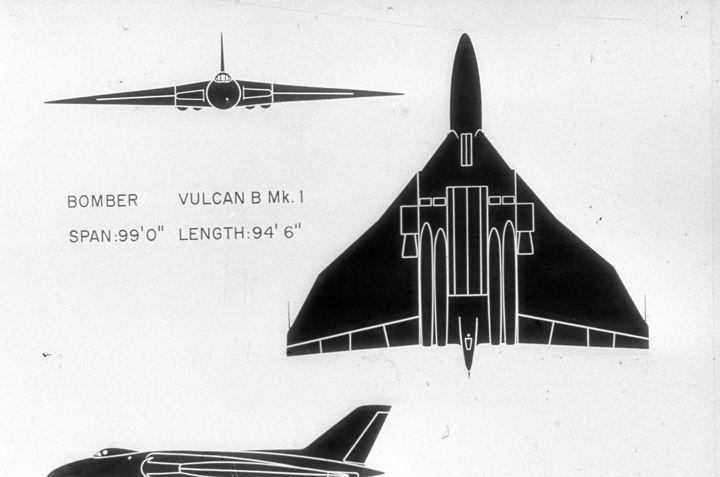 2163 VULCAN MK-B BRITISH BOMBER - MILITARY PHOTO PRINTS  UK