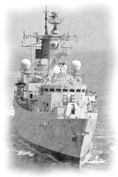 HMS Cumberland - MILITARY PHOTO PRINTS  UK