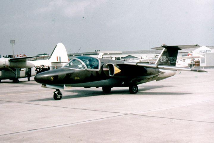 Saab 105 SE-XBZ - MILITARY PHOTO PRINTS  UK