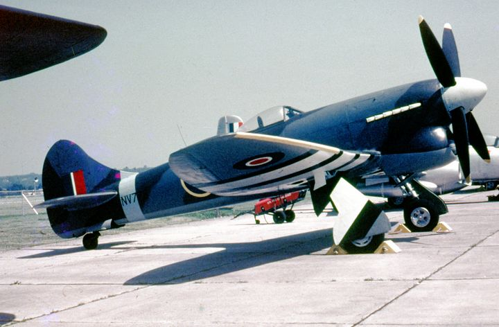Hawker Tempest V. - MILITARY PHOTO PRINTS  UK