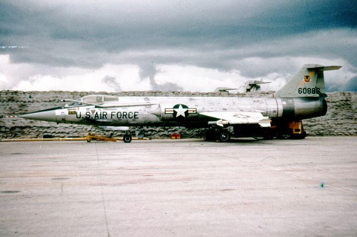 Lockheed F-104A Starfighter - MILITARY PHOTO PRINTS  UK
