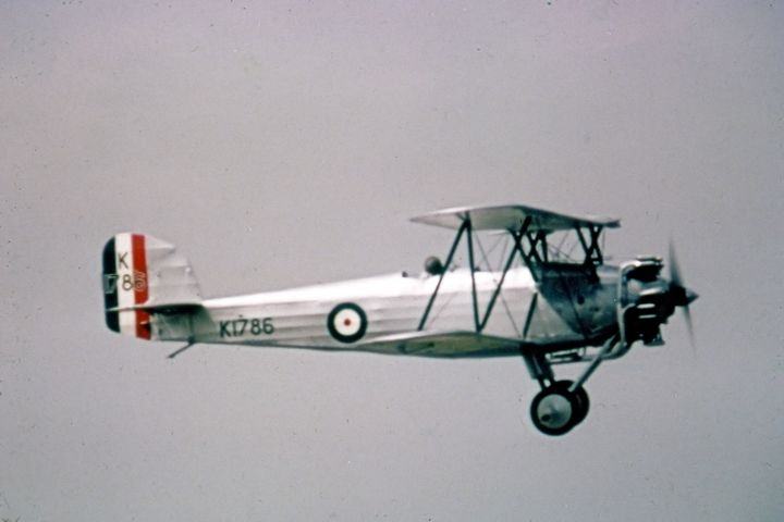 Hawker Tomtit - MILITARY PHOTO PRINTS  UK