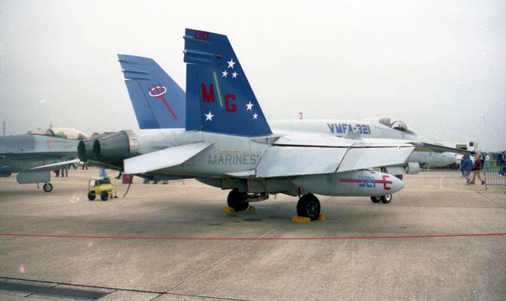 F-18A VMFA-321 'MG - MILITARY PHOTO PRINTS  UK