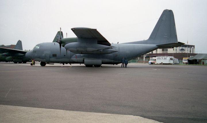 Lockheed AC-130U Hercules - MILITARY PHOTO PRINTS  UK