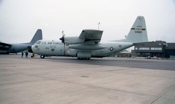 Lockheed WC-130H Hercules - MILITARY PHOTO PRINTS  UK