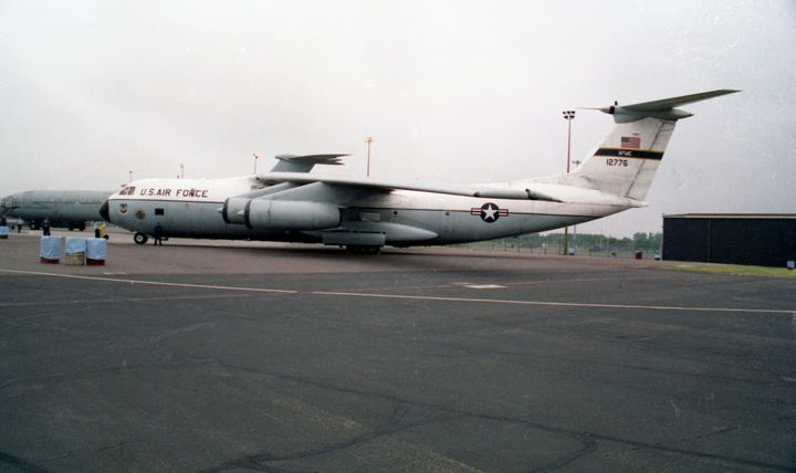 Lockheed NC-141A Starlifter - MILITARY PHOTO PRINTS  UK
