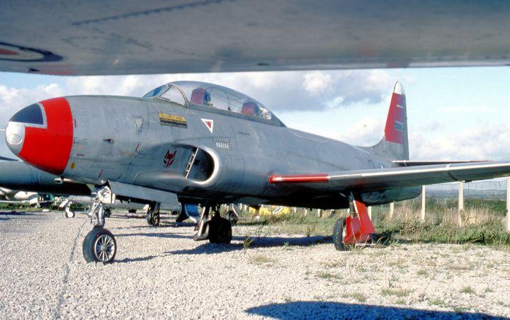 Lockheed T-33A Shooting Star - MILITARY PHOTO PRINTS  UK