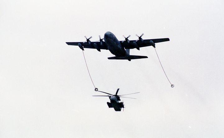 Lockheed MC-130P Hercules - MILITARY PHOTO PRINTS  UK