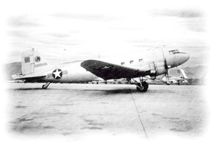 Douglas C-47 Skytrain - MILITARY PHOTO PRINTS  UK