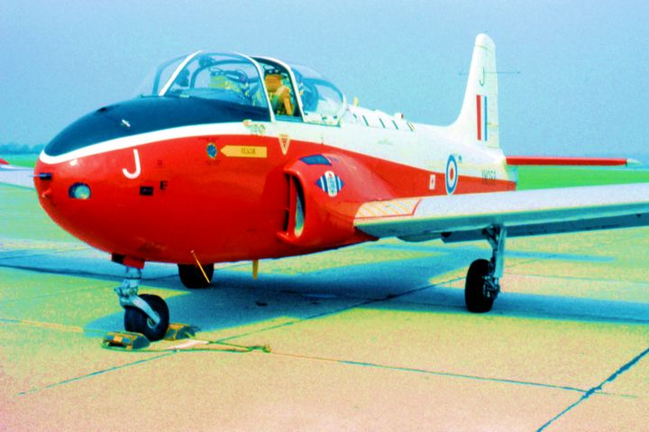 RAF Hunting Jet Provost T5A - MILITARY PHOTO PRINTS  UK