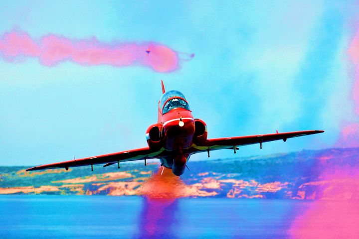 RAF Red Arrows Red 1 - MILITARY PHOTO PRINTS  UK