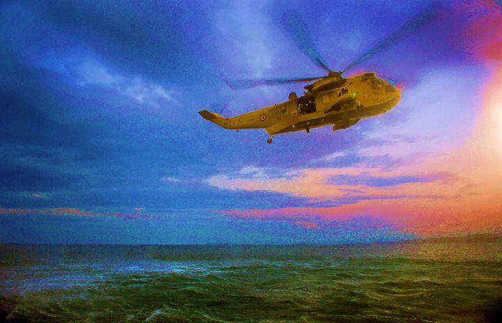 The Westland WS-61 Sea King - MILITARY PHOTO PRINTS  UK
