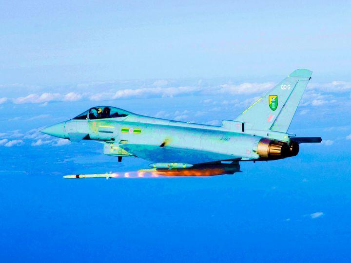 RAF TYPHOON - MILITARY PHOTO PRINTS  UK