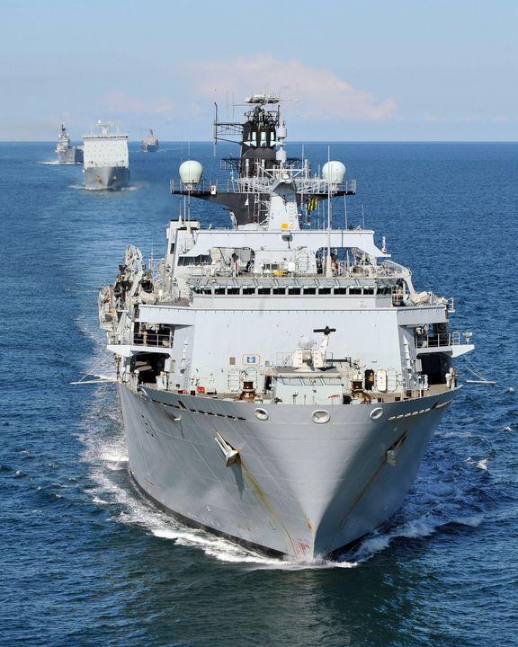 ,HMS Bulwark - MILITARY PHOTO PRINTS  UK