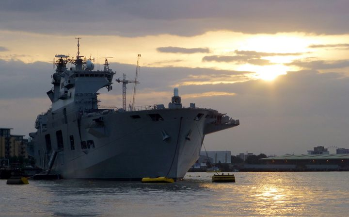 HMS Ocean - MILITARY PHOTO PRINTS  UK