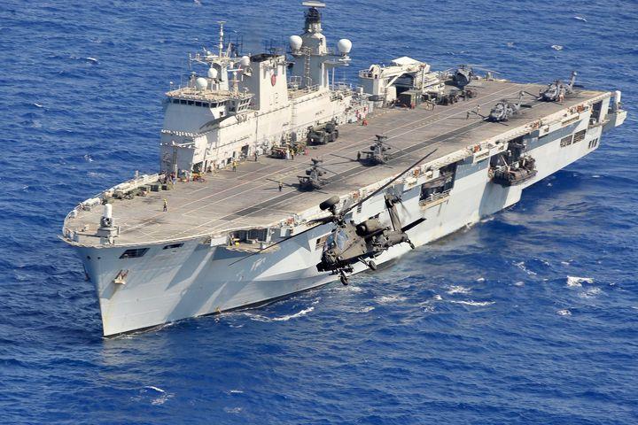 HMS Ocean,Libya - MILITARY PHOTO PRINTS  UK