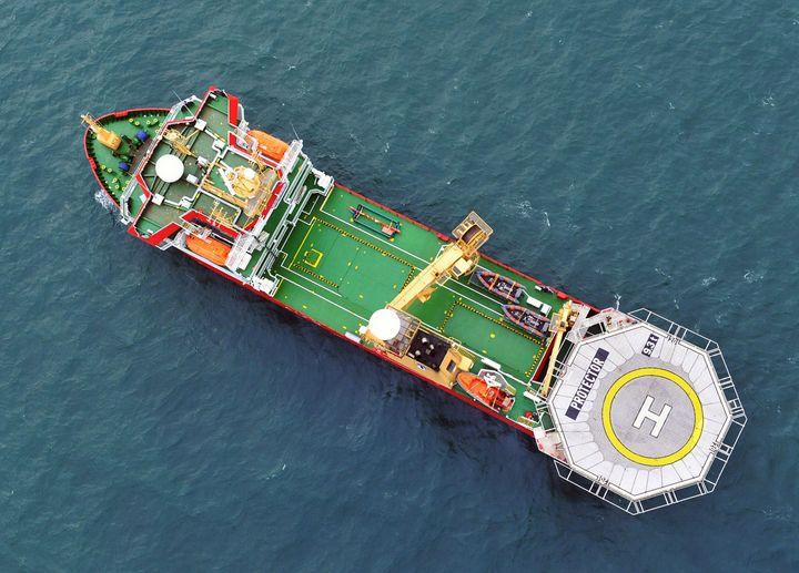 HMS Protector - MILITARY PHOTO PRINTS  UK