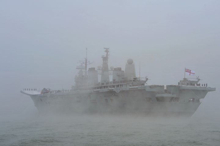 HMS ARK ROYAL - MILITARY PHOTO PRINTS  UK