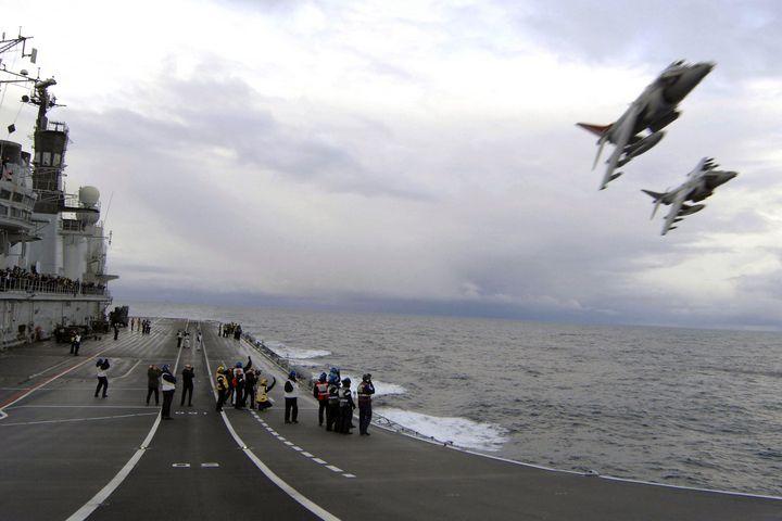 HMS ARK ROYAL THE LAST FLIGHT - MILITARY PHOTO PRINTS  UK