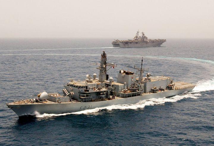 HMS Argyll - MILITARY PHOTO PRINTS  UK