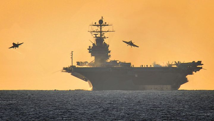 USS,Harry,S,Truman - MILITARY PHOTO PRINTS  UK