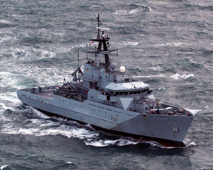 HMS Mersey - MILITARY PHOTO PRINTS  UK