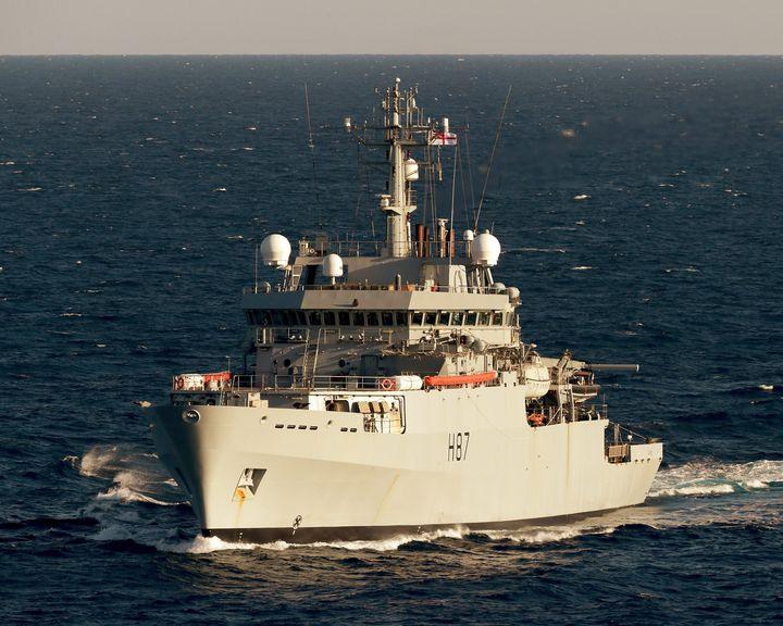 HMS Monmouth - MILITARY PHOTO PRINTS  UK