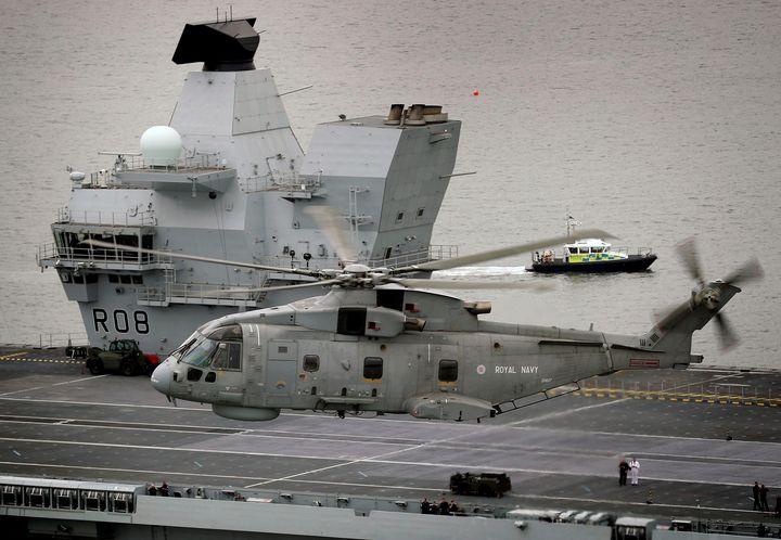 HMS Queen Elizabeth - MILITARY PHOTO PRINTS  UK