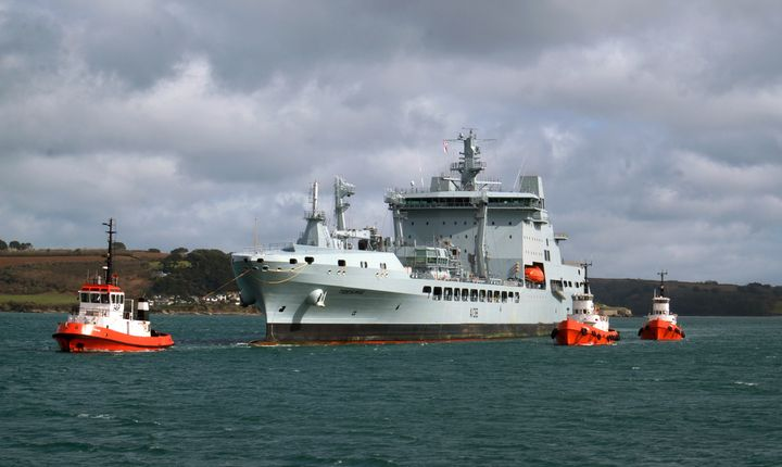 A138,RFA Tidesurge - MILITARY PHOTO PRINTS  UK