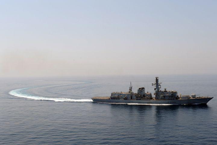 HMS Richmond - MILITARY PHOTO PRINTS  UK