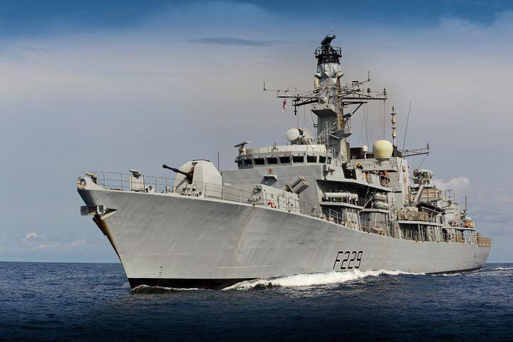 HMS Lancaster - MILITARY PHOTO PRINTS  UK