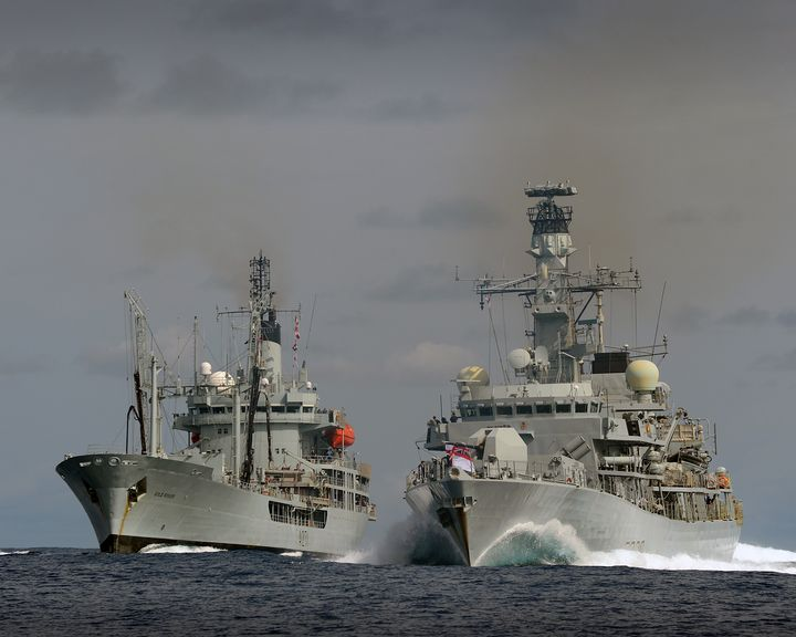 HMS Lancaster,RFA Gold Rover - MILITARY PHOTO PRINTS  UK