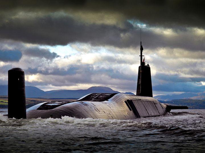 HMS Vengeance - MILITARY PHOTO PRINTS  UK