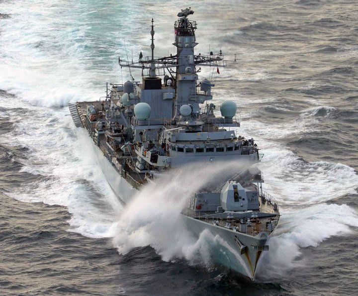 HMS St Albans - MILITARY PHOTO PRINTS  UK