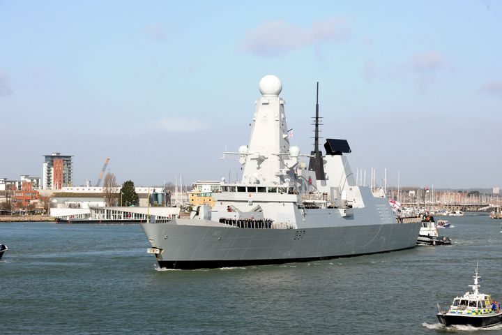 HMS Duncan - MILITARY PHOTO PRINTS  UK