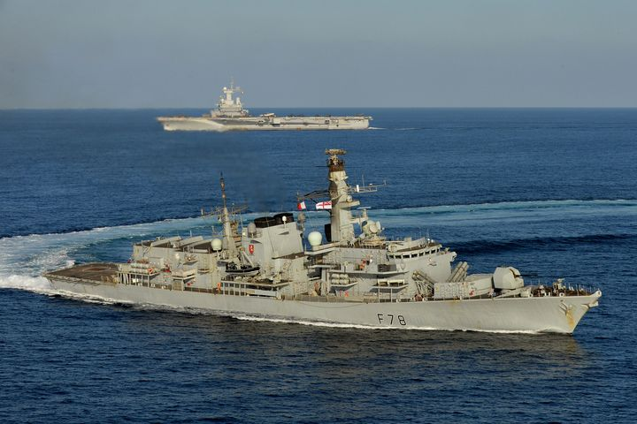 HMS Kent - MILITARY PHOTO PRINTS  UK