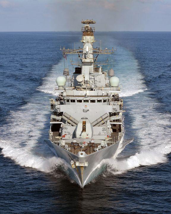 HMS Kent - MILITARY PHOTO PRINTS  UK