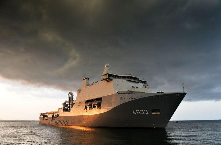 HNLMS Karel Doorman (A833) - MILITARY PHOTO PRINTS  UK