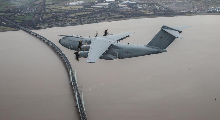 RAF 206 (R) Sqn, A400M,Atlas - MILITARY PHOTO PRINTS  UK