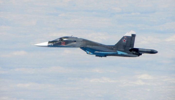 Sukhoi Su-34 - MILITARY PHOTO PRINTS  UK