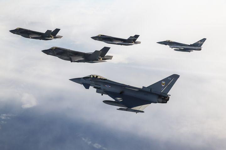 RAF FGR4,Typhoon - MILITARY PHOTO PRINTS  UK