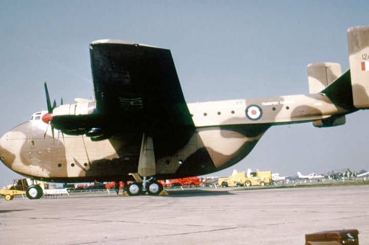 RAF Blackburn Beverley C1 - MILITARY PHOTO PRINTS  UK