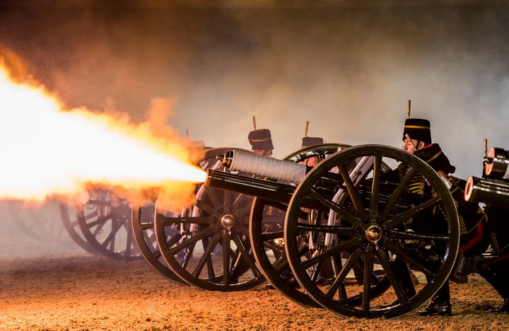 Kings Troop Royal Horse Artillery - MILITARY PHOTO PRINTS  UK
