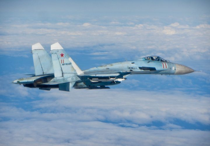 SU-27,Russian,Air Force - MILITARY PHOTO PRINTS  UK