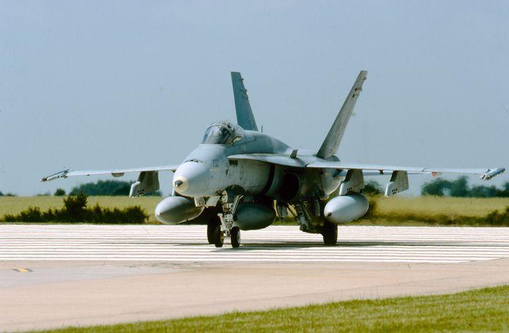 McDonnell Douglas CF-188A Hornet - MILITARY PHOTO PRINTS  UK