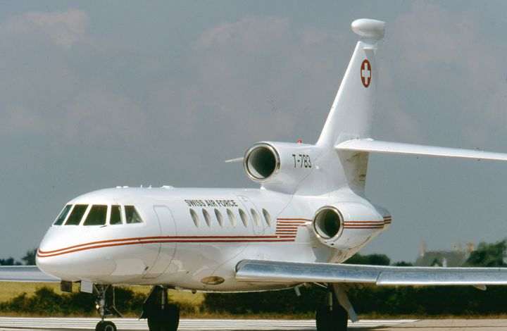 T-783  Dassault Falcon 50EX  SAF - MILITARY PHOTO PRINTS  UK