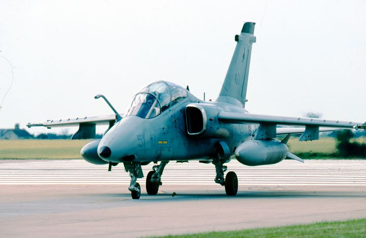 Italian Air Force AMX MM7178 - MILITARY PHOTO PRINTS  UK