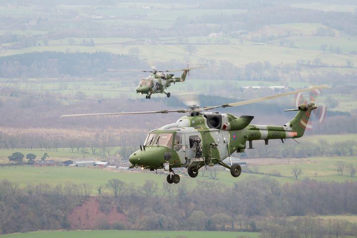 9 REGT AAC,Lynx 9A - MILITARY PHOTO PRINTS  UK